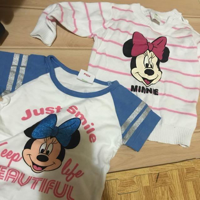 Bundle Minnie tops