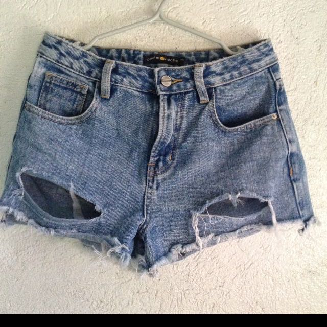 Cache cache ripped shorts