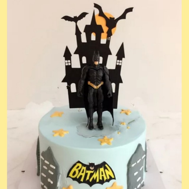 Cake Topper Batman Figurines Design Craft Others On Carousell