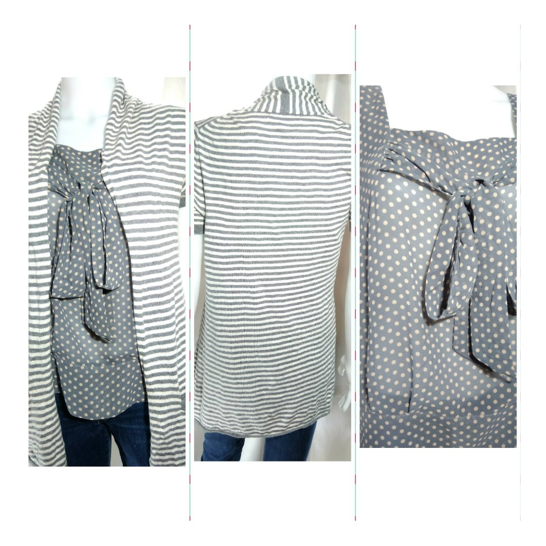 Cardigan and blouse