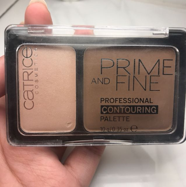 Catrice contouring pallette