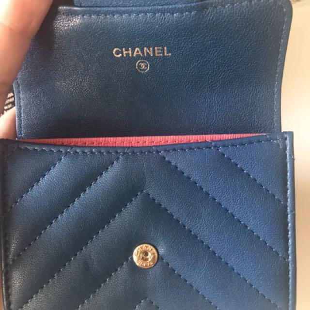 Chanel card case