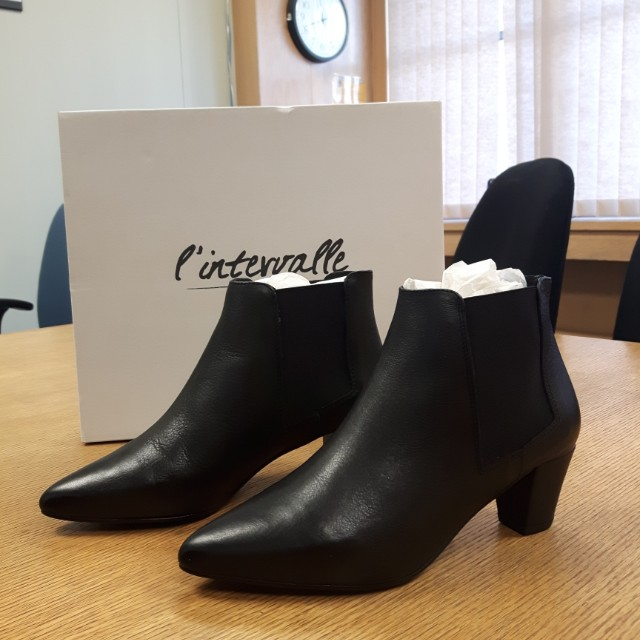 Chic Leather Ankle Boots (Made in Spain)