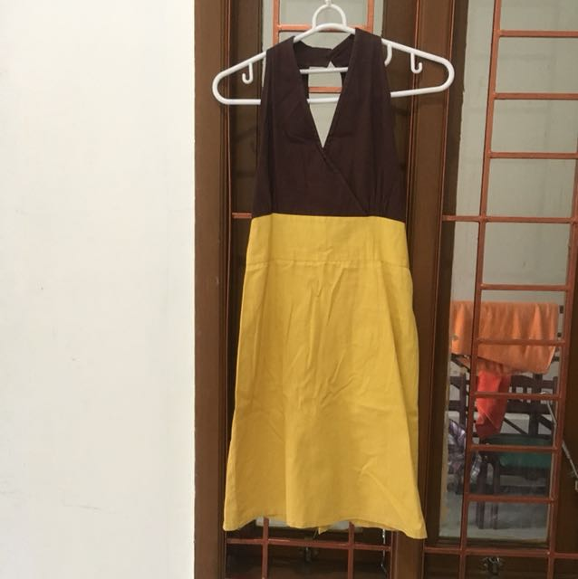 Choco Yellow Dress