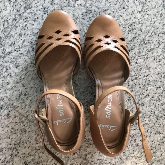 2 On Carousell Wedges Fashion Clarks Women's Shoes Inch Shoe dZnHT6