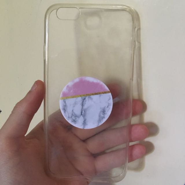best website 748a4 10419 Clear case and pop Socket, Electronics, Mobile & Tablet Accessories ...