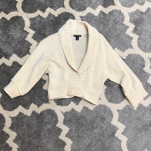 Club Monaco cropped sweater XS