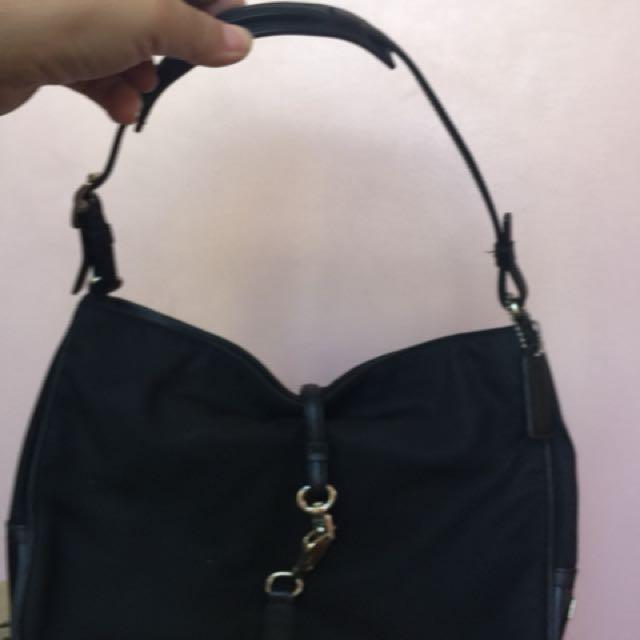 Coach hand bag repriced sale