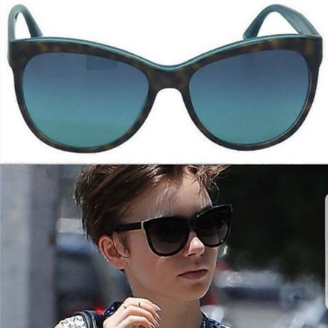 07b8083f650d Coach Sunglasses in Tortoise/Teal, Women's Fashion, Accessories on ...