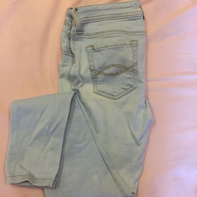 Colorbox Denim Washed Super Skinny Jeans