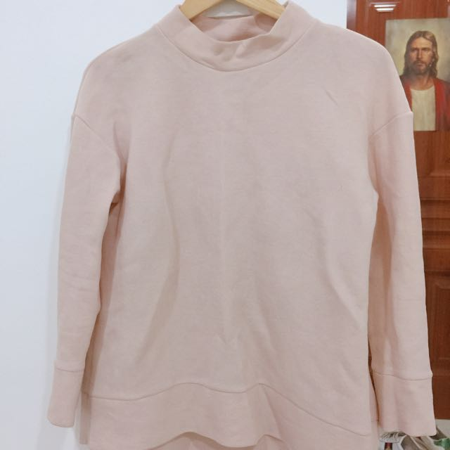 COS Blush Pink Pullover/Longsleeves/Top