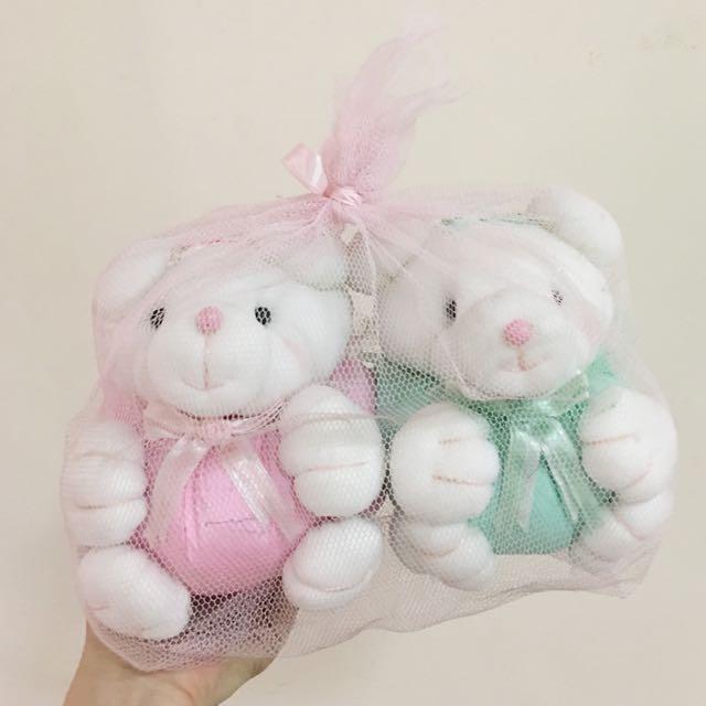 Couple Rabbit Stuff Toy