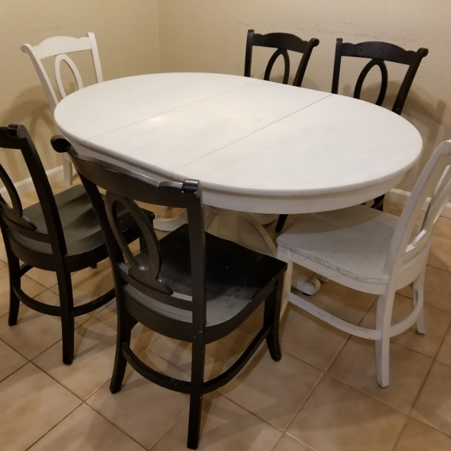 Crate and Barrel Dinning Table