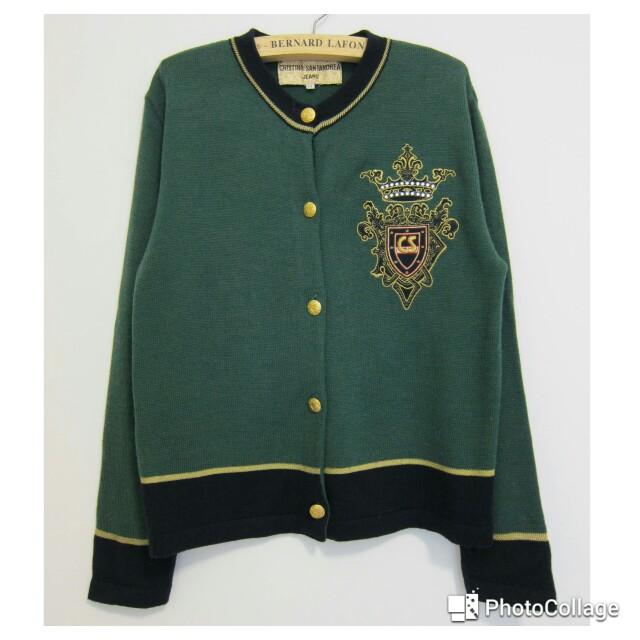 (保留)義大利CRISTINA SANTANDREA 羊毛小外套