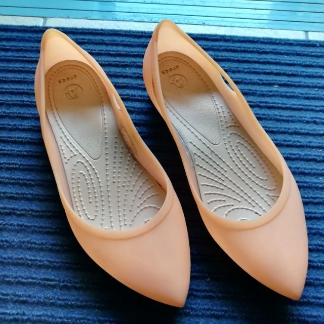 Crocs Rio Flats (Peach)