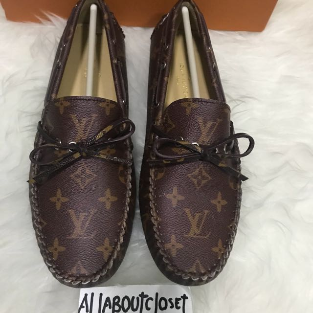 Customer's purchased. LV Monogram loafers