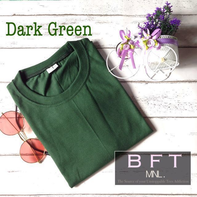 Dark green Boyfriend tee