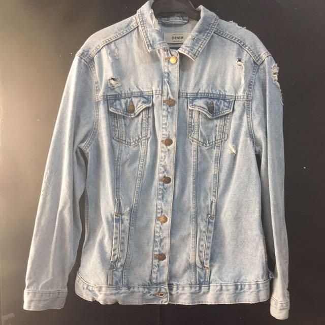 Denim Jacket (Unisex) Medium/Large