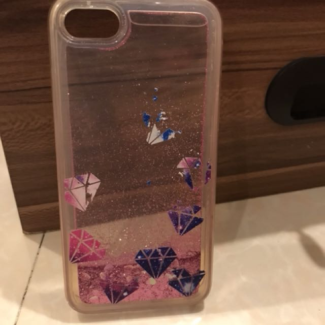 Diamond Water Glitter Soft Case IPHoNe 7