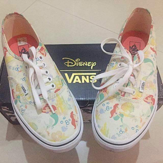 Disney Vans Ariel White