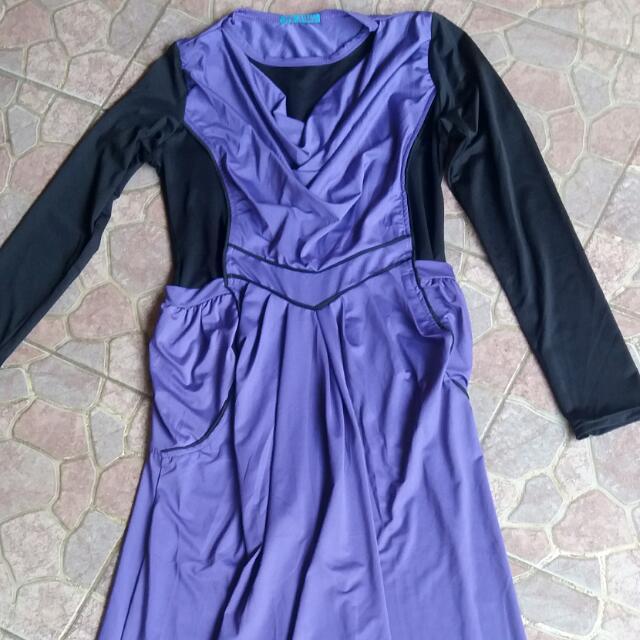 Dress Panjang Semata Kaki