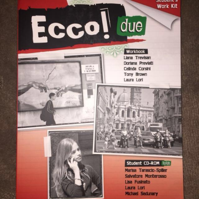Ecco Duo Italian Work Book