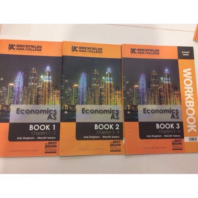 Economics A-level WorkBook