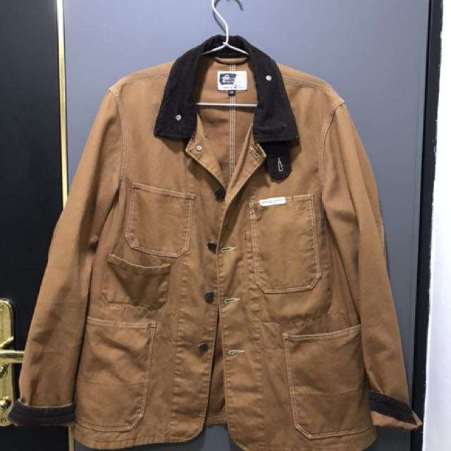 Engineered Garments railroad style duck canvas workwear