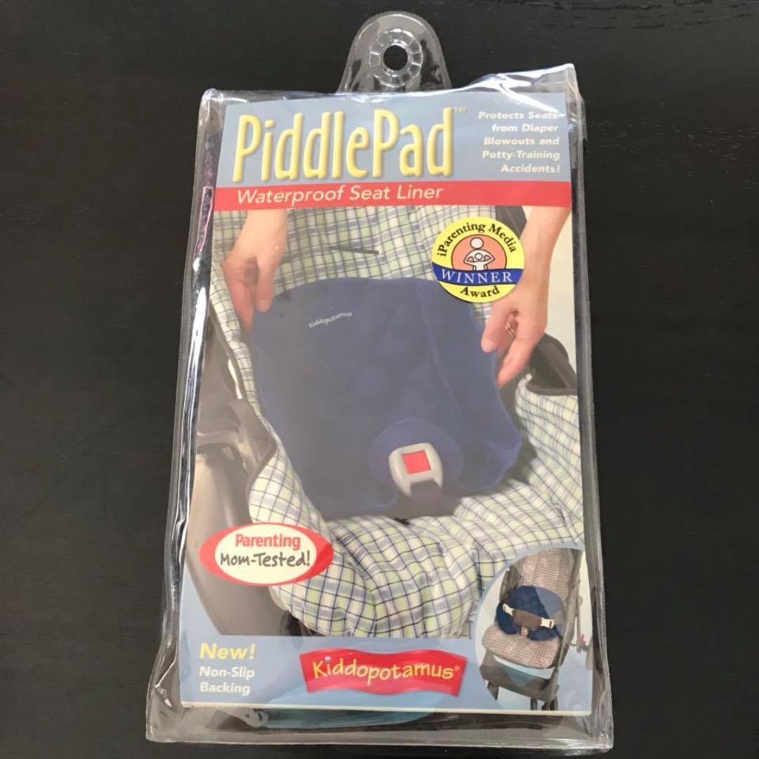 euc piddlepad waterproof seat liner for toilet training