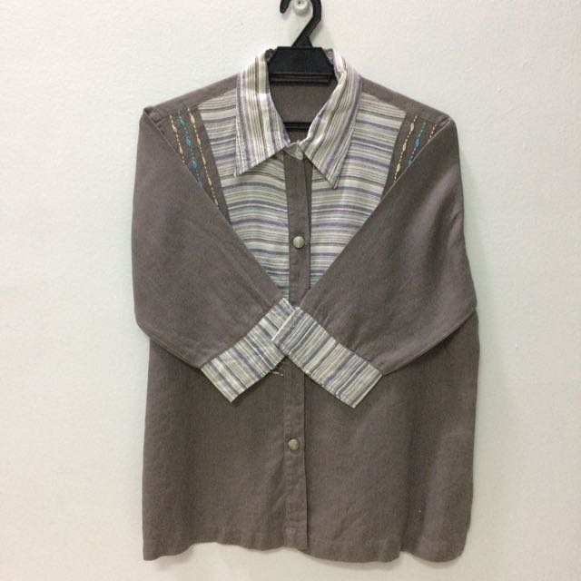 Eucalyptus Grey blouse
