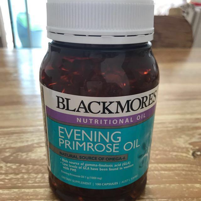 Evening Primrose Oil 190 capsules , Health & Beauty, Bath & Body on Carousell