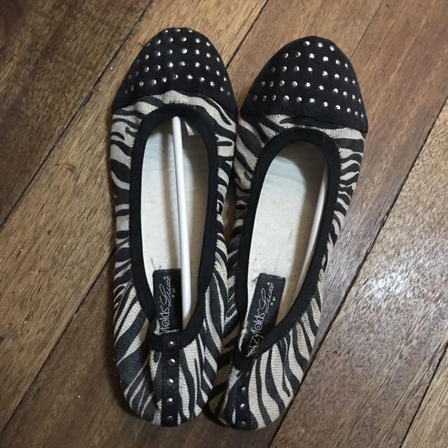 Footzy Folds Ballet Flats