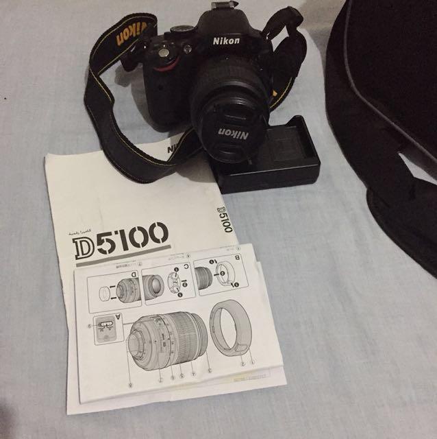 FOR SALE❗️D5100 (dslr Nikon) original