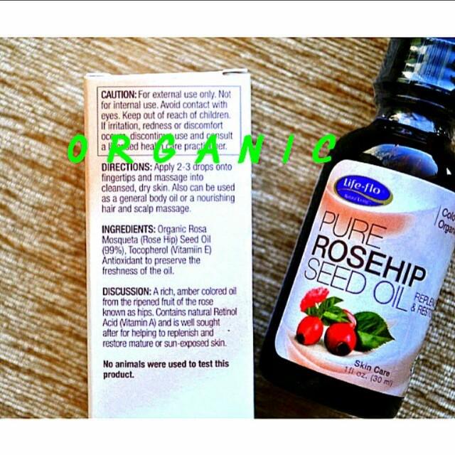 Freepos Life Flo Organic Rosehip Oil