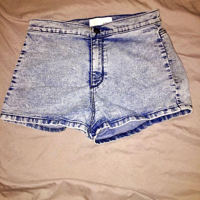 Garage highwaisted shorts