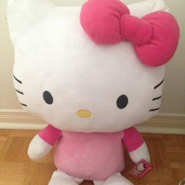 Giant Hello Kitty Stuffed Toy