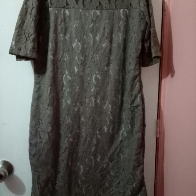 Gray Dress (lace)