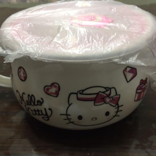 Hello Kitty 湯碗