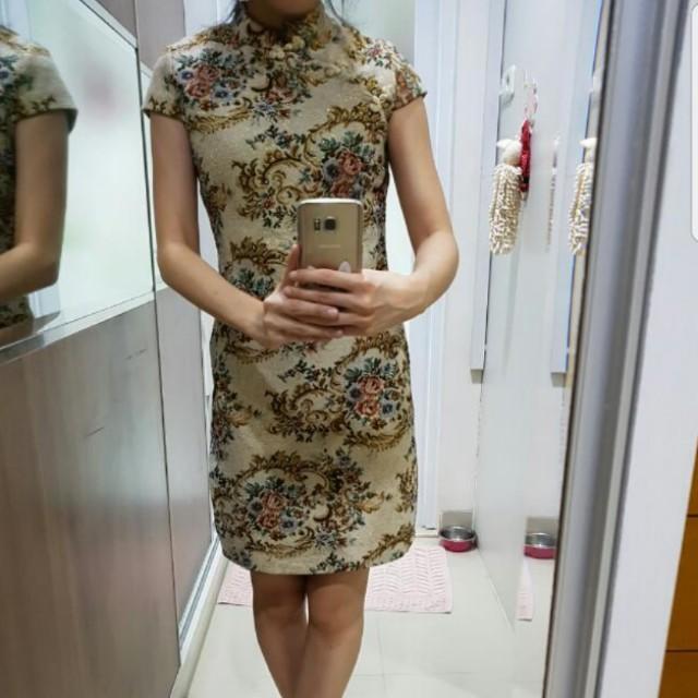 HIGH QUALITY CHEONGSAM DRESS