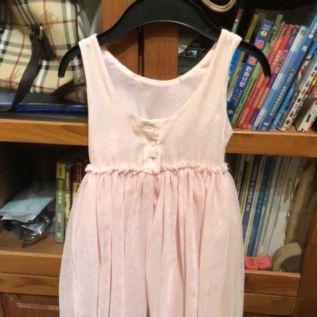 全新H&M 女童洋裝 篷裙