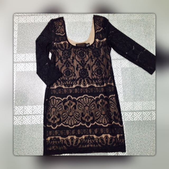 H&M Lace black dress