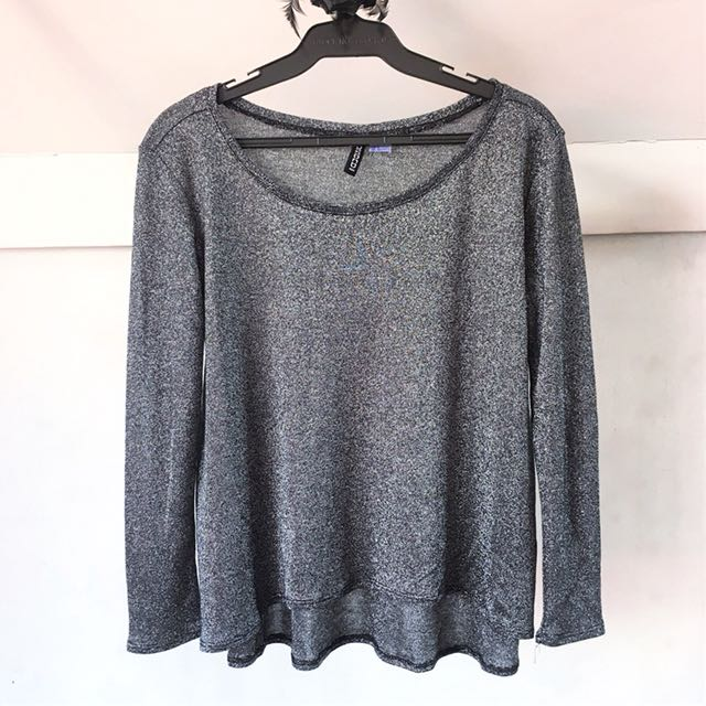 H&M Shimmery Pullover
