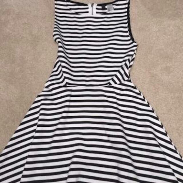 H&M striped dress free sf