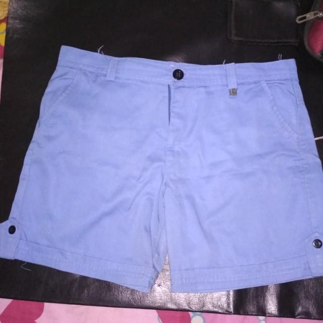 Hotpants biru