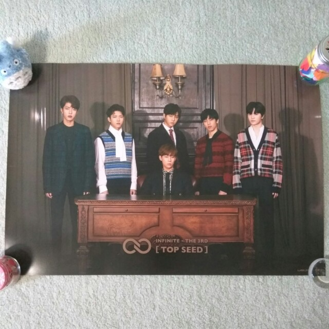 INFINITE - Top Seed (ver. B) (Poster) [UNFOLDED]