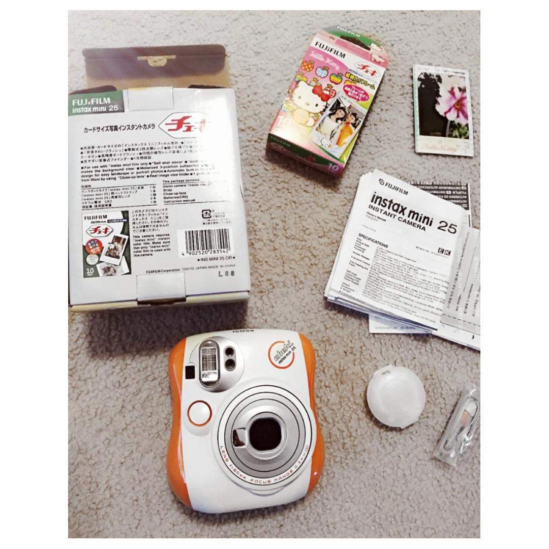 Instax Mini 25 Polaroid Camera Set