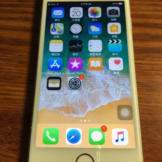 Iphone6 64g 銀色 全功能正常