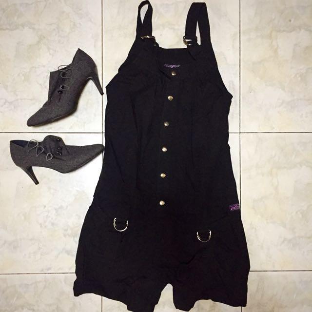 (Jagthug) Black romper/jumper