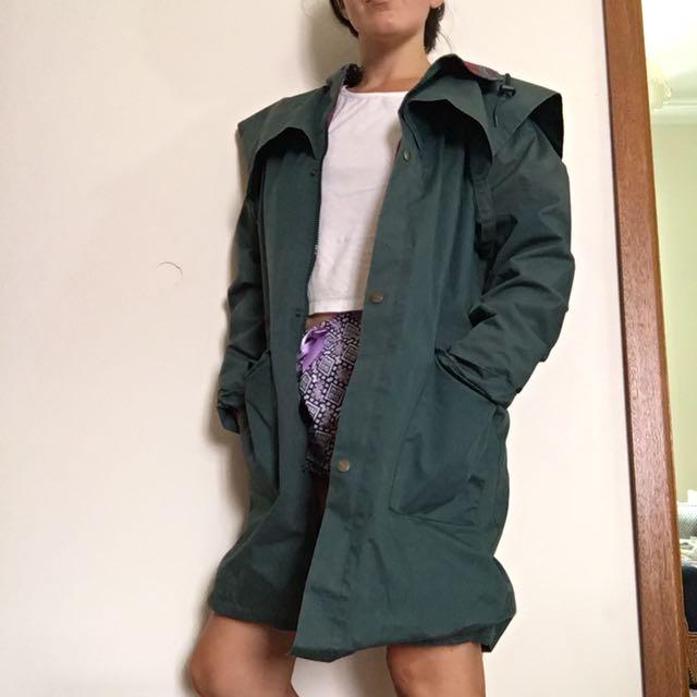 Khaki Green Wild Country Japara Jacket