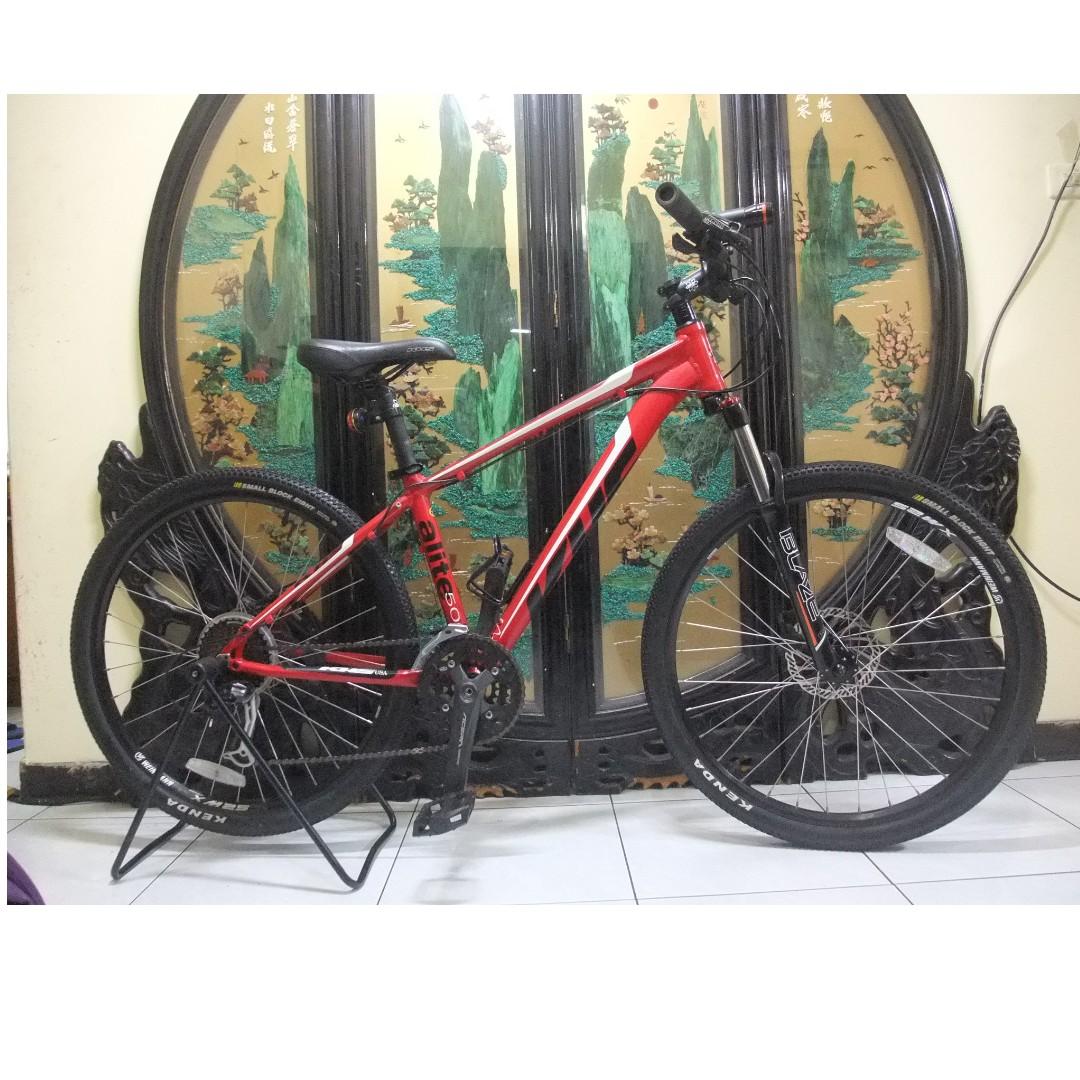 khs Alite 500 shimano 27段變速油壓碟煞腳踏車aluminum bike HYDRAULIC BRAKE桃園自取